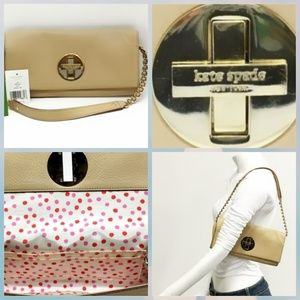 BNWT Kate Spade Holly Bexley Small Leather Clutch